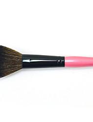 1pc Allık Fırçası Naylon Fırça Kokusuz Anti-Sürtünme Kayın Ağacı Yüz
