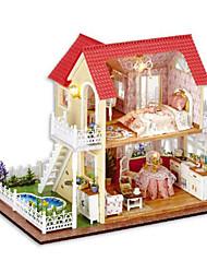 cheap -CUTE ROOM Model Building Kit Toys DIY House Plastics Classic Pieces Unisex Gift