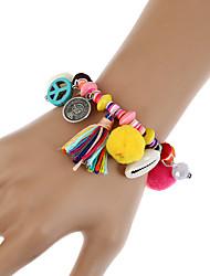 Per donna Bracciali a catena e maglie Bracciali con ciondoli Dell'involucro del braccialetto Vintage stile della Boemia Turco bigiotteria