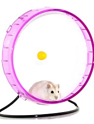 abordables -Rongeurs Hamster Silicone Roues d'Exercice Violet Jaune Fuchsia Vert Bleu