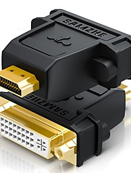 HDMI 2.0 Adapter, HDMI 2.0 to DVI Adapter Male - Female Gold-plated copper