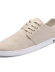 cheap -Men's Shoes Wool Spring Fall Comfort Sneakers Lace-up for Athletic White Black Beige