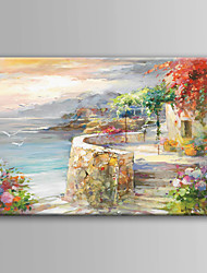 Hand-Painted  Impression Landscape Oil Painting For Home Decoration