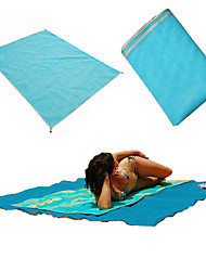Fengtu Sleeping Pad Camping & Hiking Foldable Multifunction Polyester for Camping / Hiking Beach Spring/Fall Summer