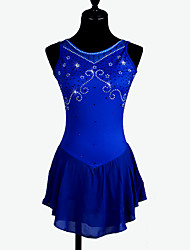 Figure Skating Dress Women's Girls' Ice Skating Dress Quick Dry Anatomic Design Comfortable Stretch Sweat-wicking smooth Performance
