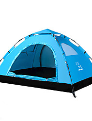 LINGNIU® 2 persons Tent Beach Tent Single Camping Tent One Room Automatic Tent Keep Warm Wateproof Ultraviolet Resistant Sun Protection