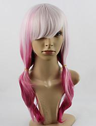 Optimal Sin Crown  Qi Gradient Pink Hair Make Cosplay Wigs Anime Harajuku Wig Wholesale