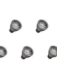 preiswerte -5 Stück 5W 550lm GU10 LED Spot Lampen 1 LED-Perlen COB Dekorativ Warmes Weiß / Kühles Weiß 85-265V