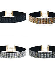 Women's Choker Necklaces Geometric Alloy Unique Design Jewelry For Event/Party Dailywear Outdoor clothing