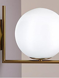 40 E12/E14 Moderno/Contemporáneo Dorado Característica for LED,Luz Ambiente Luz de pared
