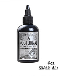 4oz Tattoo Inks Black Pigment Color USA Imported
