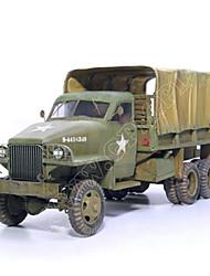 abordables -Coches de juguete Puzzles 3D Maqueta de Papel Camión Juguetes Cuadrado Camioneta Papel duro No Especificado Piezas
