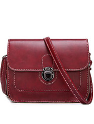 Women Bags All Seasons PU Polyester Shoulder Bag for Casual Outdoor Black Brown Wine