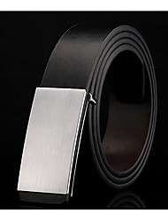 cheap -Men's Alloy Waist Belt,White Black Classic