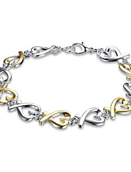 Women's Chain Bracelet Charm Bracelet Jewelry Basic Initial Jewelry Luxury Simple Style Fashion Vintage Bohemian Punk Personalized