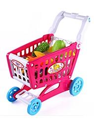 Недорогие -Игрушечные машинки Игрушечная еда Ролевые игры Игрушки Овощи Ножи для овощей и фруктов Овощи и фрукты Фрукт Пластик Детские Подарок