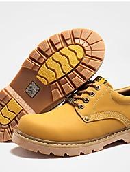 Da uomo Sneakers Comoda TPU Autunno Inverno Casual Basso Giallo Verde militare Marrone scuro Meno di 2,5 cm