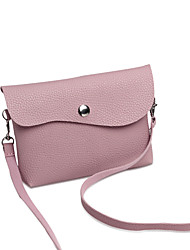 Women Bags All Seasons PU Shoulder Bag for Wedding Event/Party Casual Sports Formal Outdoor Office & Career Black Blushing Pink Gray