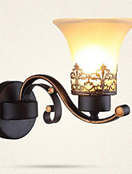 cheap -Hotel Guest Room Wall Lamp European Retro Living Room Led Wall Lamp