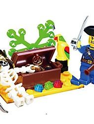 Building Blocks Block Minifigures Toys Skull Pirate Pieces Unisex Gift