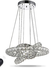 cheap -Chandelier LED Lighting Indoor Modern Dimmable Ceiling Pendant Lights Chandeliers Lamp Fixtures with Remote Control