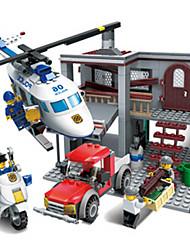 economico -Costruzioni Giocattoli Elicottero Plastica Per bambini Pezzi