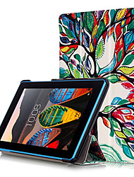 cheap -Print Case Cover For Lenovo Tab 3 TAB3 7 730 730F 730X TB3-730F TB3-730M 7 Tablet with Screen Protector