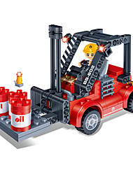 economico -Costruzioni Puzzle 3D Macchinine giocattolo Carrello elevatore Giocattoli Carrello elevatore Fai da te Maschio Ragazze Pezzi