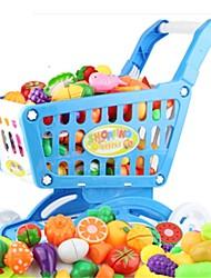Недорогие -Игрушечные машинки Игрушка кухонные наборы Игрушечная еда Ролевые игры Игрушки Овощи Ножи для овощей и фруктов Фрукт Овощи и фрукты