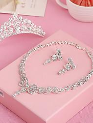 cheap -Rhinestone Alloy Tiaras Headbands Head Chain 1 Wedding Special Occasion Birthday Party / Evening Headpiece