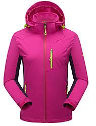 Damen Wanderjacke warm halten Atmungsaktiv Wasserdicht Jacke Oberteile für Rennen Camping & Wandern Klettern Winter Herbst L XL XXL XXXL