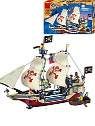 abordables -ENLIGHTEN Blocs de Construction Pirate Bateau / Pirates Cadeau