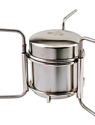 OUT-D Camping Stove Single Portable Stainless steel for Picnic Camping & Hiking Outdoor
