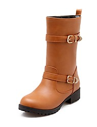 cheap -Women's Shoes Customized Materials Winter Fashion Boots Motorcycle Boots Bootie Formal Shoes Comfort Novelty Gladiator Snow Boots Boots