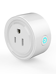 preiswerte -waza smart plug (us) mini-outlet kompatibel mit amazon alexa und google assistent, wifi-fähige fernbedienung smart-buchse mit timer-funktion, kein hub erforderlich