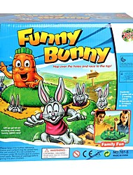 Board Game Toys Rabbit Pieces Kid Gift