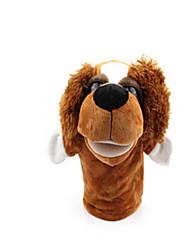 Недорогие -Пальцевые куклы Утка Собаки Лошадь Лев Овечья шерсть Зебра Обезьяна Животные Милый Хлопковая ткань Взрослые Подарок