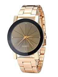 abordables -Hombre Mujer Reloj creativo único Reloj de Pulsera Reloj de Moda Chino Cuarzo Gran venta Aleación Banda Encanto Vintage Casual Elegant