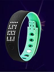 Per donna Smart watch Orologio alla moda Digitale Silicone Banda Nero Blu Rosso Verde
