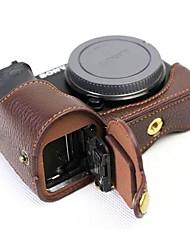 Недорогие -Dengpin кожаная сумка для крышки корпуса для сумки sony ilce-6500 a6500 (различные цвета)