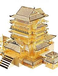 economico -Puzzle 3D Modellini di metallo Kit per costruzioni Giocattoli Edificio famoso Architettura 3D Fai da te Non specificato Maschio Pezzi