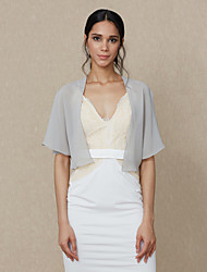 cheap -Chiffon Wedding Party/ Evening Women's Wrap Shrugs Elegant Style