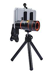 Donews 8x lange fokale Teleskop Linse Smartphone Kamera Objektive 0.63x Weitwinkel 15x Makro Fisch-Auge Objektiv für iphone huawei xiaomi