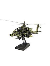 Kit de Bricolage Puzzle Puzzles en Métal Hélicoptère Jouets Avion Chasseur Hélicoptère 3D A Faire Soi-Même Articles d'ameublement Non