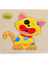 cheap -Jigsaw Puzzle Toys Cat Wooden Not Specified Pieces
