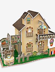 abordables -Puzzles 3D Puzzle Maquette en Papier Bâtiment Célèbre Articles d'ameublement A Faire Soi-Même Bois Naturel Enfant Unisexe Cadeau