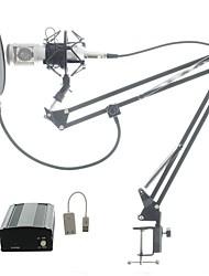 Недорогие -BM8007 Проводное Микрофон Конденсаторный микрофон Ручной микрофон Назначение ПК