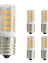 4W Lâmpadas Espiga T 52 leds SMD 2835 Branco Quente 360lm 2800-3500
