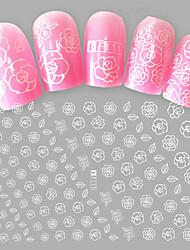 1 Autocollant d'art de clou Motif Produits DIY 3D Maquillage cosmétique Nail Art Design