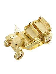 Недорогие -Игрушечные машинки Пазлы Металлические пазлы Автомобиль 3D Своими руками Медь Металл Универсальные Подарок